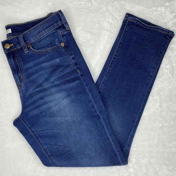 J. Crew Mid-Rise Skinny Leg Stretch Jeans Pants